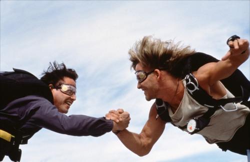 """Ride or die, Bro. """"Point Break,"""" 1991."""