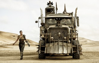 "CHARLIZE THERON as Imperator Furiosa ZOË KRAVITZ as Toast the Knowing, COURTNEY EATON as Cheedo the Fragile, RILEY KEOUGH as Capable, TOM HARDY as Max Rockatansky and NICHOLAS HOULT as Nux in Warner Bros. Pictures' and Village Roadshow Pictures' action adventure ""MAD MAX: FURY ROAD,"" a Warner Bros. Pictures release. (Jasin Boland)"