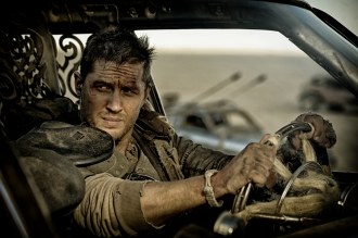 "TOM HARDY as Max Rockatansky in Warner Bros. Pictures' and Village Roadshow Pictures' action adventure ""MAD MAX: FURY ROAD,"" a Warner Bros. Pictures release. (Jasin Boland)"