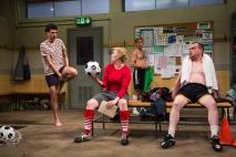 Liam Forde, Kimberly Gilbert, Zdenko Martin, and Michael Glenn (Igor Dmitry).