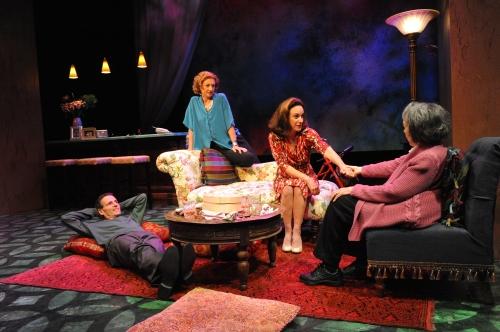 Paul Morella, Lise Bruneau, Susan Rome, and Barbara Rappaport (Theater J).