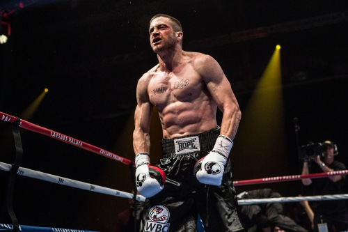 Like Robert De Niro and Daniel Day-Lewis before him, Jake Gyllenhaal transformed his body to play a boxer. (Scott Garfield)