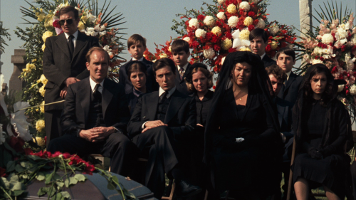 Godfather funeral