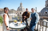 """Alicia Vikander, Armie Hammer, and Henry Cavill in """"The Man from U.N.C.L.E."""" (Daniel Smith/Warner Bros.)"""