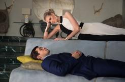 "Henry Cavill and Elizabeth Debicki in ""The Man from U.N.C.L.E."" (Daniel Smith/Warner Bros.)"
