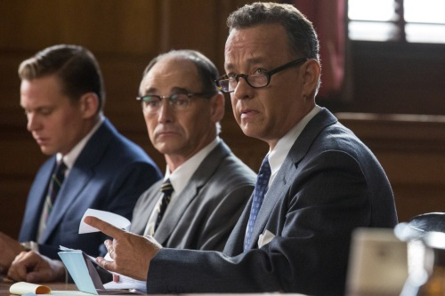 Billy Magnusson, Mark Rylance and Tom Hanks in