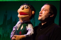 "Matt Dewberry as Princeton in Constellation's ""Avenue Q."" (DJ Corey)"