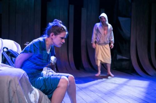 "Brianna Letourneau and Scott Ward Abernethy in Keegan Theatre's ""The Magic Tree."""