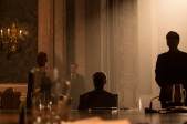 Oberhauser played by Christoph Waltz (center) in Metro-Goldwyn-Mayer Pictures/Columbia Pictures/EON Productions' action adventure SPECTRE.