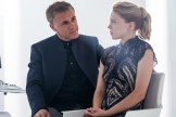 Christoph Waltz (left) and Leå Seydoux in Metro-Goldwyn-Mayer Pictures/Columbia Pictures/EON Productions' action adventure SPECTRE.
