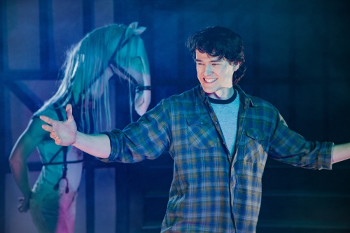 "Ryan Tumulty and Ross Destiche in ""Equus."""
