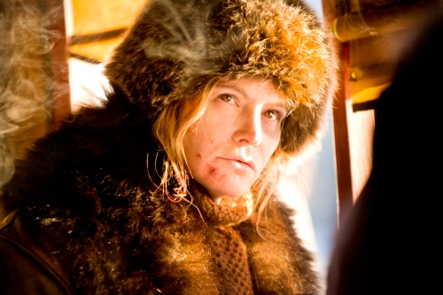 "Jennifer Jason Leigh in ""The Hateful Eight."" (The Weinstein Co.)"