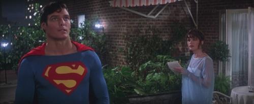 Christopher Reeve and Margot Kidder in Richard Donner's SUPERMAN (1978).