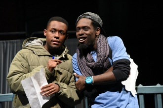 "Vaughn Ryan Midder and Jeremy Keith Hunter in ""When January Feels Like Summer"" (Stan Barouh)"
