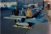 The U.S.S. Enterprise studio model in 1965. (CBS Consumer Products / Star Trek Archive)