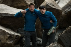 "Karl Urban and Zachary Quinto in 2016's ""Star Trek Beyond."" (Kimberly French / Paramount)"