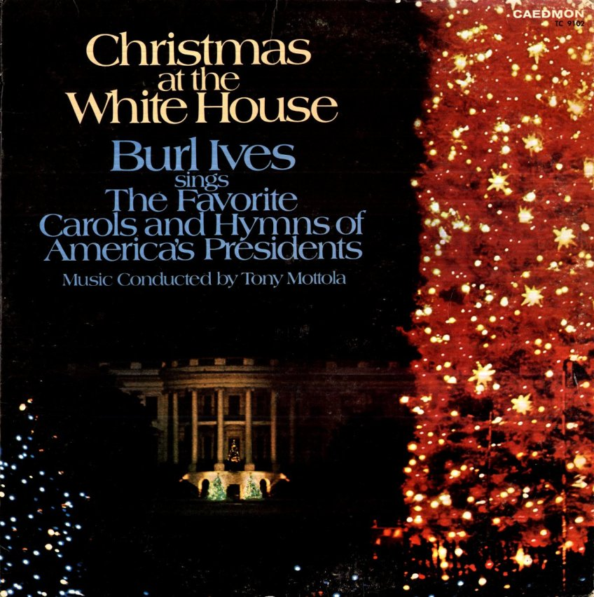 Burl Ives Christmas.Burl Ives Christmas At The White House Smaller Swagger