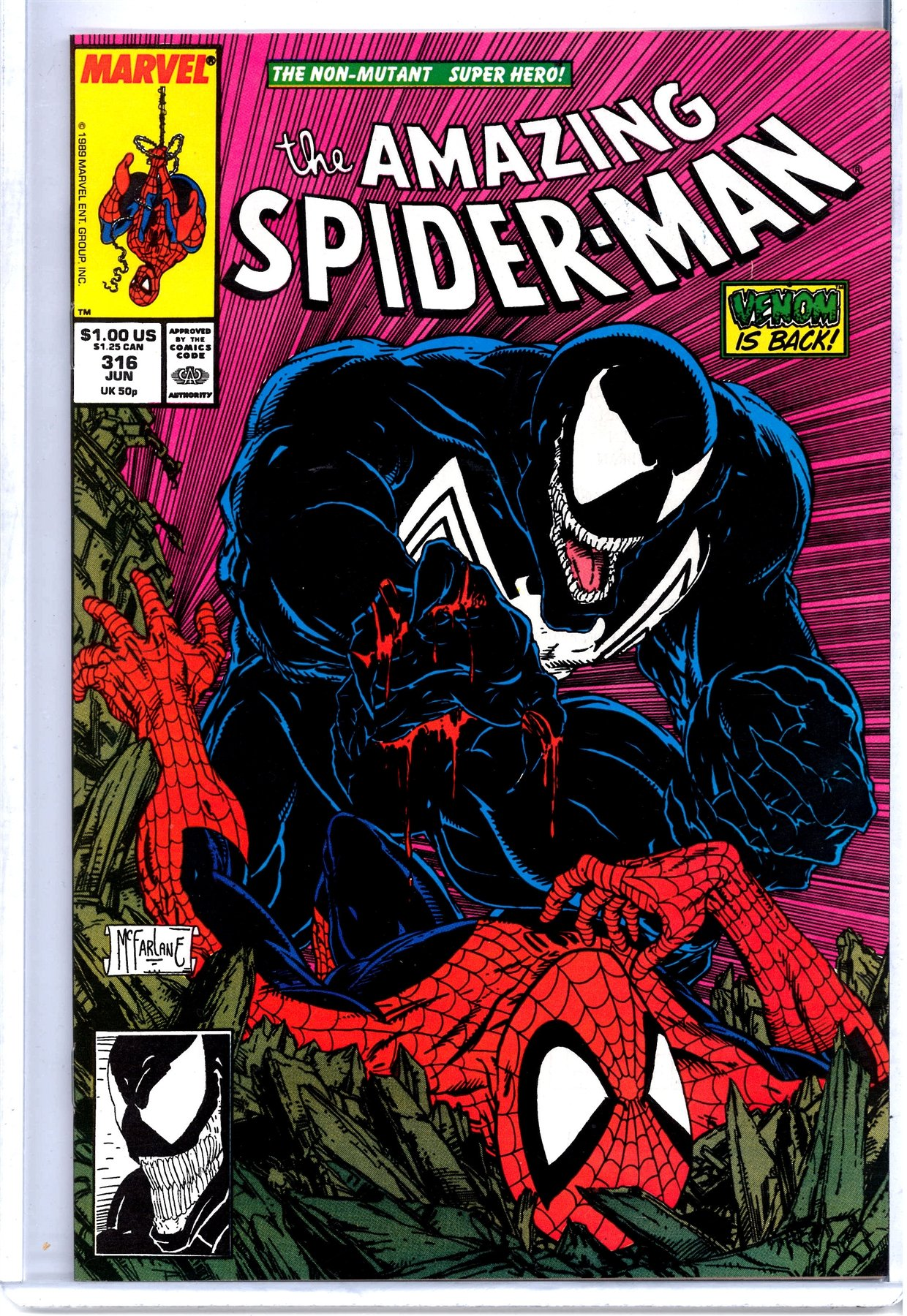 Spider-Man 316 cover